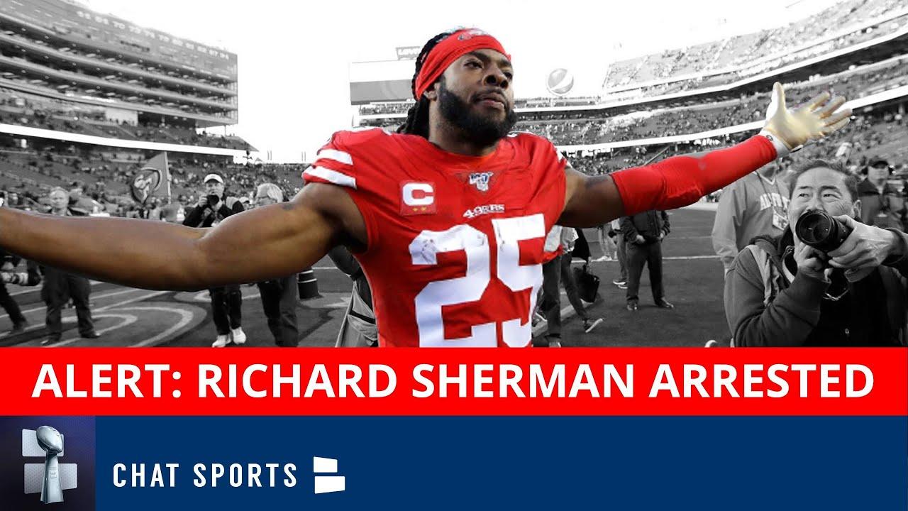 Free-agent CB Richard Sherman booked on charge of burglary ...