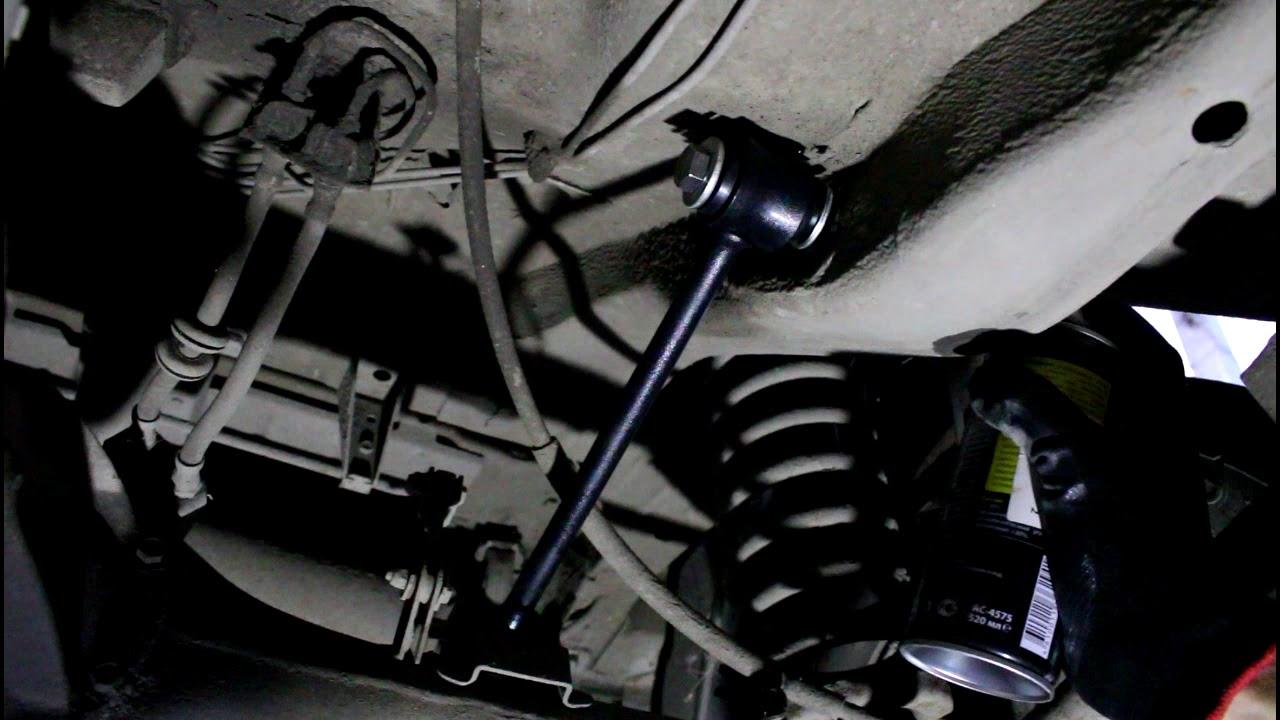 Замена задних реактивных тяг (штанги)  Chevrolet Niva 4х4 Шевроле Нива 2005 года