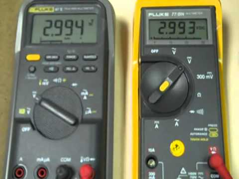 fluke 77bn multimeter review youtube rh youtube com Fluke Multimeter 80 Series 3 Fluke 73 3 Multimeter