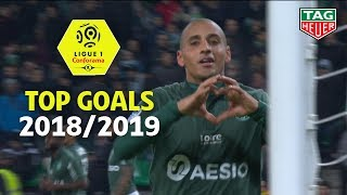 Top 5 goals by AFCON players | season 2018-19 | Ligue 1 Conforama