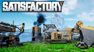 🏭 Satisfactory 03 | HUB Upgrade und Förderbänder | Gameplay German Deutsch thumbnail