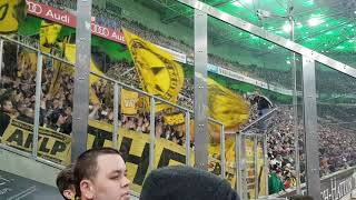 Borussia Mönchengladbach - Borussia Dortmund (0:1) 18.02.2018 Highlights aus dem Gästeblock