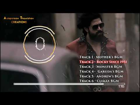 #kgf All Mass Bgm  Dolby  Heart Touching Mother Bgm  With Download Link  Ravi Basrur At Creation