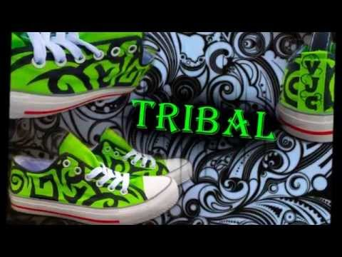 Tribal Custom shoes