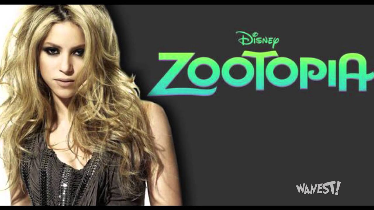Shakira En Zootopia Es Gazelle Con Try Everything Youtube