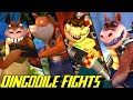 Evolution of Dingodile Battles in Crash Bandicoot Games (1996-2017)