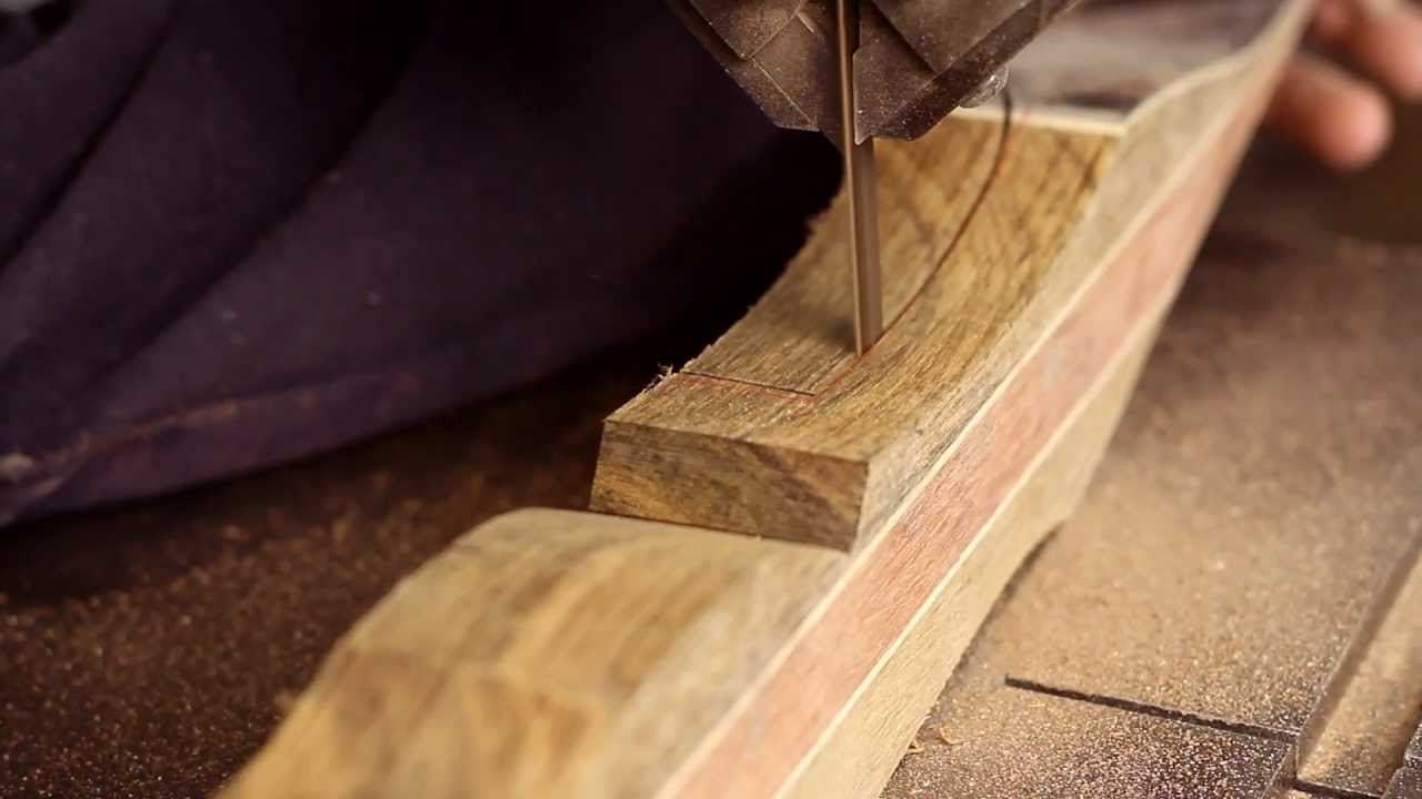 The Making Of A Traditional Bow Youtube