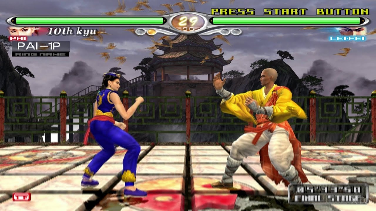 Image result for virtua fighter 4 evolution