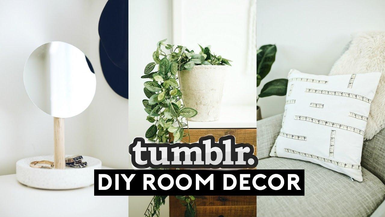 [VIDEO] - DIY ROOM DECOR! EASY + CHEAP (TUMBLR INSPIRED) 2018 | Nastazsa 1