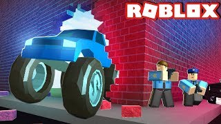 MONSTER TRUCK JAILBREAK! ( I spent all my robux)