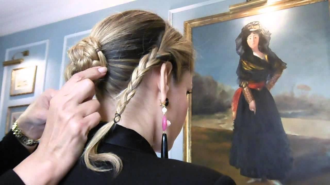 Imagen perfecta peinados feria 2021 Imagen de ideas de color de pelo - Como hacer un moño de flamenca fácil y rápido I - YouTube