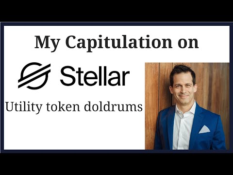 My Stellar Lumen Capitulation.  Network Still Growing, But Value Not Accruing To XLM Token For Now