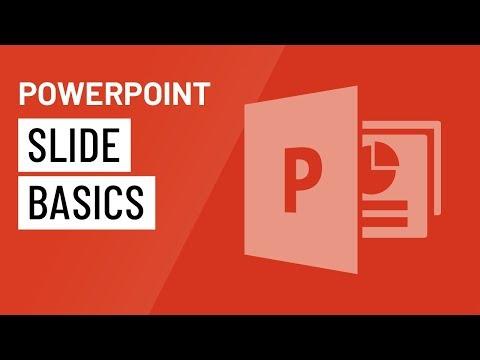 PowerPoint: Slide Basics