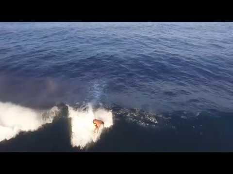 Secret surf spot in Hana, Maui