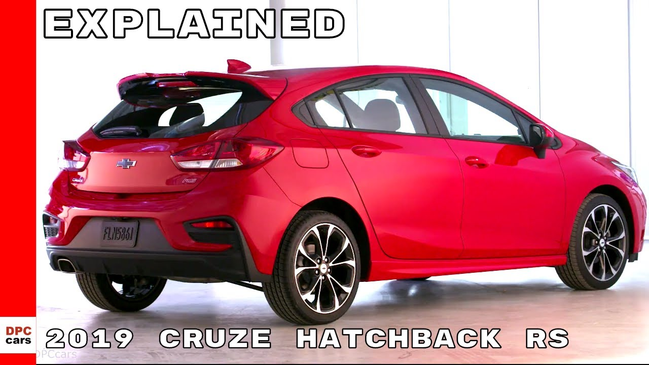 2019 Chevrolet Cruze Hatchback Rs Youtube