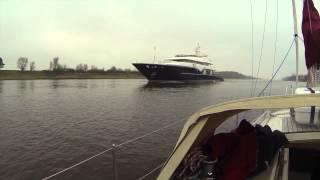 Nord-Ostsee-Kanal mit der Nonsuch
