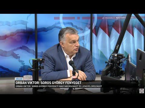 Orbán Viktor: Soros György fenyeget thumbnail