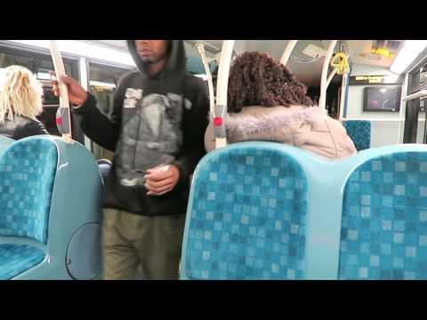 Inside A N279 London Bus Near Enfield Highway 15 October 2015