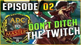 I AM THE CHEESIEST CARRY!! ADC to Masters S8 - Episode 2