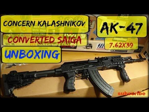 Concern Kalashnikov AK-47 Converted Saiga Unboxing