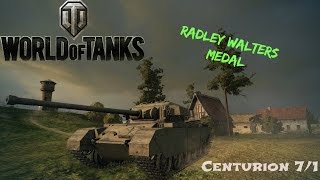 Centurion Mk. 7/1 Radley Walters with Stock Gun - World of Tanks