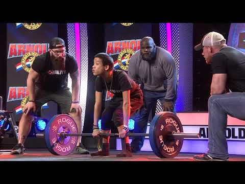 Joe Geis - Miles Taylor Deadlifts for The Arnold and Mark Henry