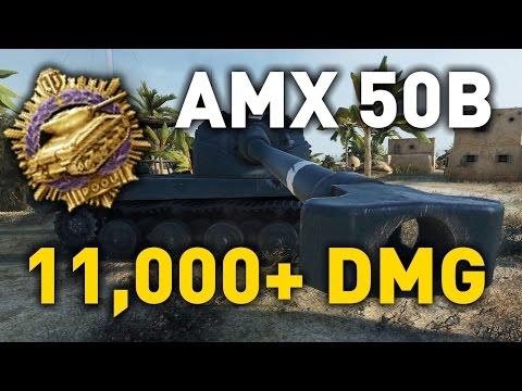 World of Tanks || AMX 50 B - 11,000+ DMG...