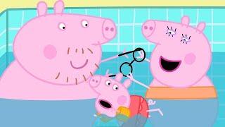 Zwemmen Met Peppa Pig ⭐ Tekenfilm ⭐ Peppa Pig Nederlands Compilatie Nieuwe