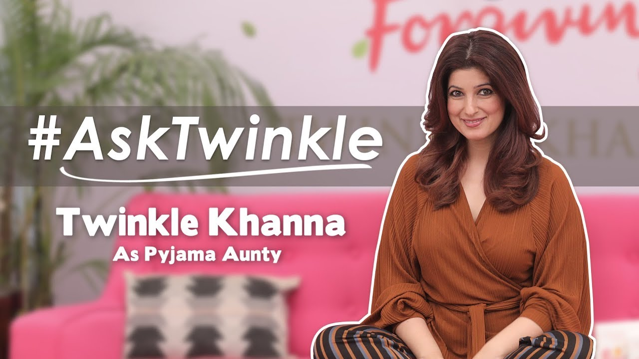 Twinkle Khanna Answers Questions About Dating, Sex, Weight