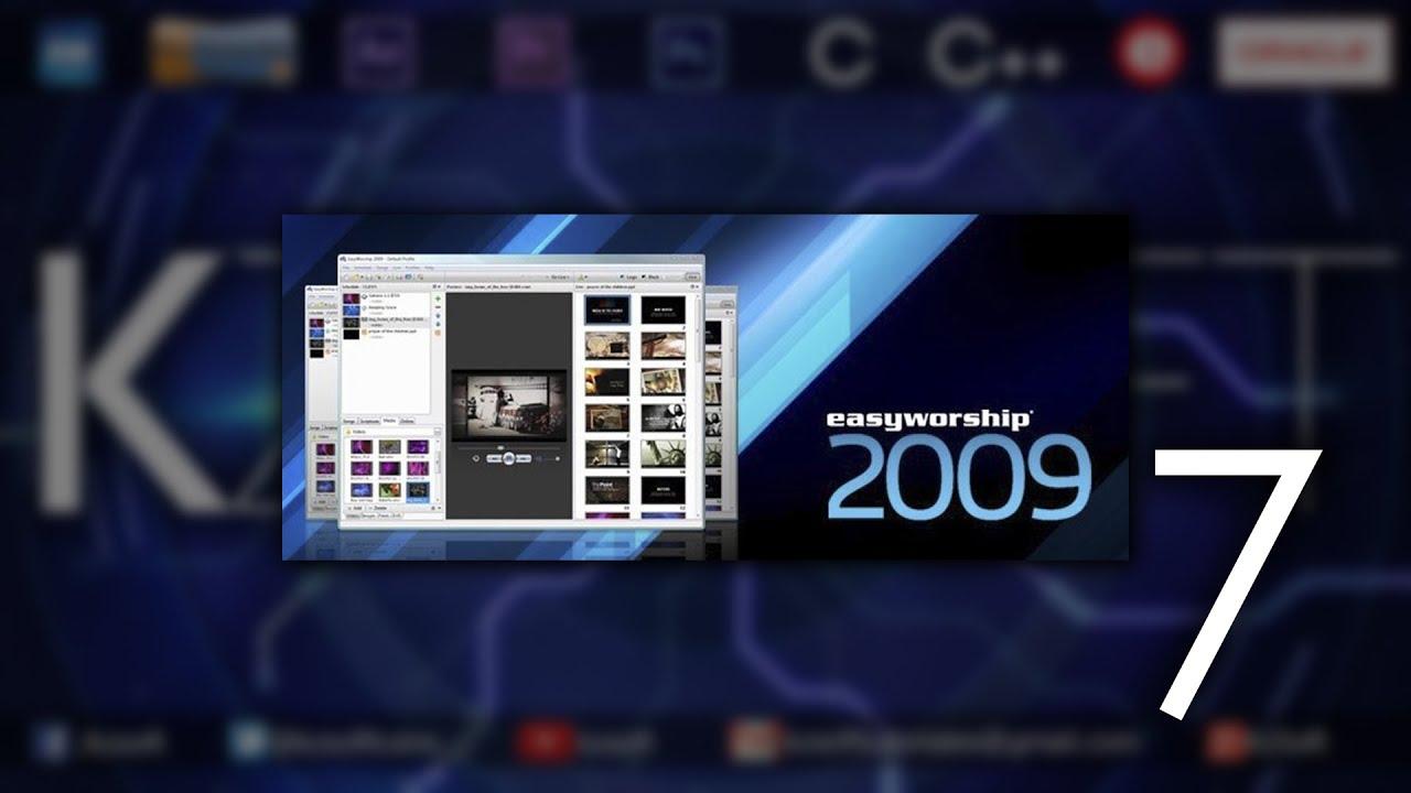 easyworship 2007 windows 10