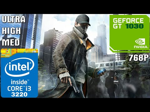 Watch Dogs [PC] - I3-3220 + 4GB RAM + GT 1030