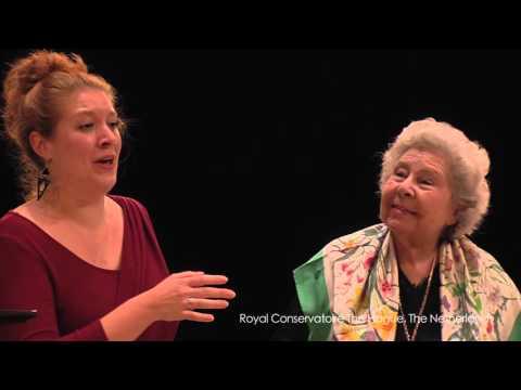 Masterclass Christa Ludwig part 3: Zinzi Frohwein (soprano)