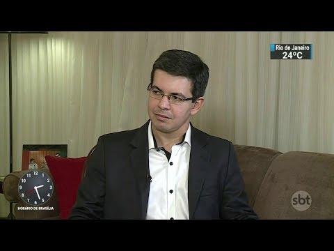 Papo de Bastidor entrevista o senador Randolfe Rodrigues   SBT Notícias (13/10/17)