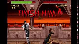 Mortal Kombat 2 (Snes), Smoke