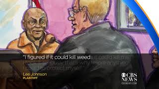 California man who blames terminal cancer on Roundup testifies at trial A former school groundskeeper who blames his terminal cancer on the popular weed-killer Roundup has testified in his lawsuit against the herbicide's ..., From YouTubeVideos