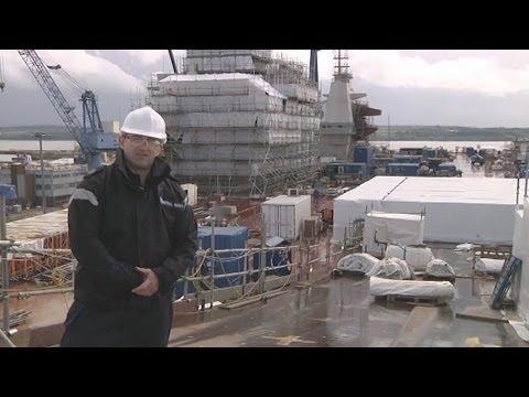 Exploring HMS Queen Elizabeth