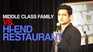 MIDDLE CLASS RESTAURANT PROBLEMS : STAND UP COMEDY -Kenny Sebastian thumbnail