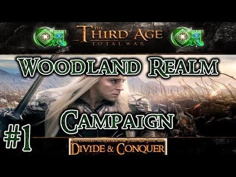 Third Age Total War: Divide and Conquer v1.01 - Woodland Realm Campaign [#1]