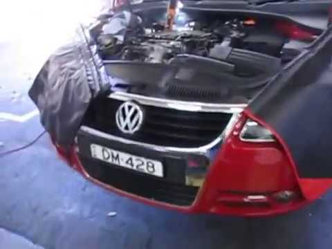 Volkswagen EOS - Oil filter location & All levels under hood explained -  YouTubeYouTube