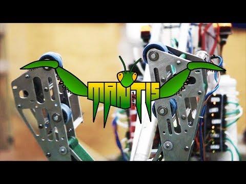 Hamosad 1657 -  FRC Robot Reveal 2018: MANTIS