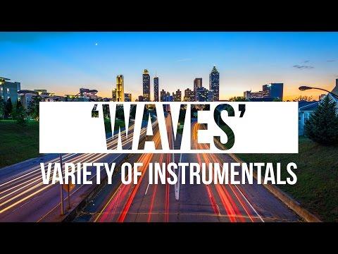 [MIX] Relaxing Chill Wavy Trap Hip Hop Instrumentals  'Waves' | Chuki Beats