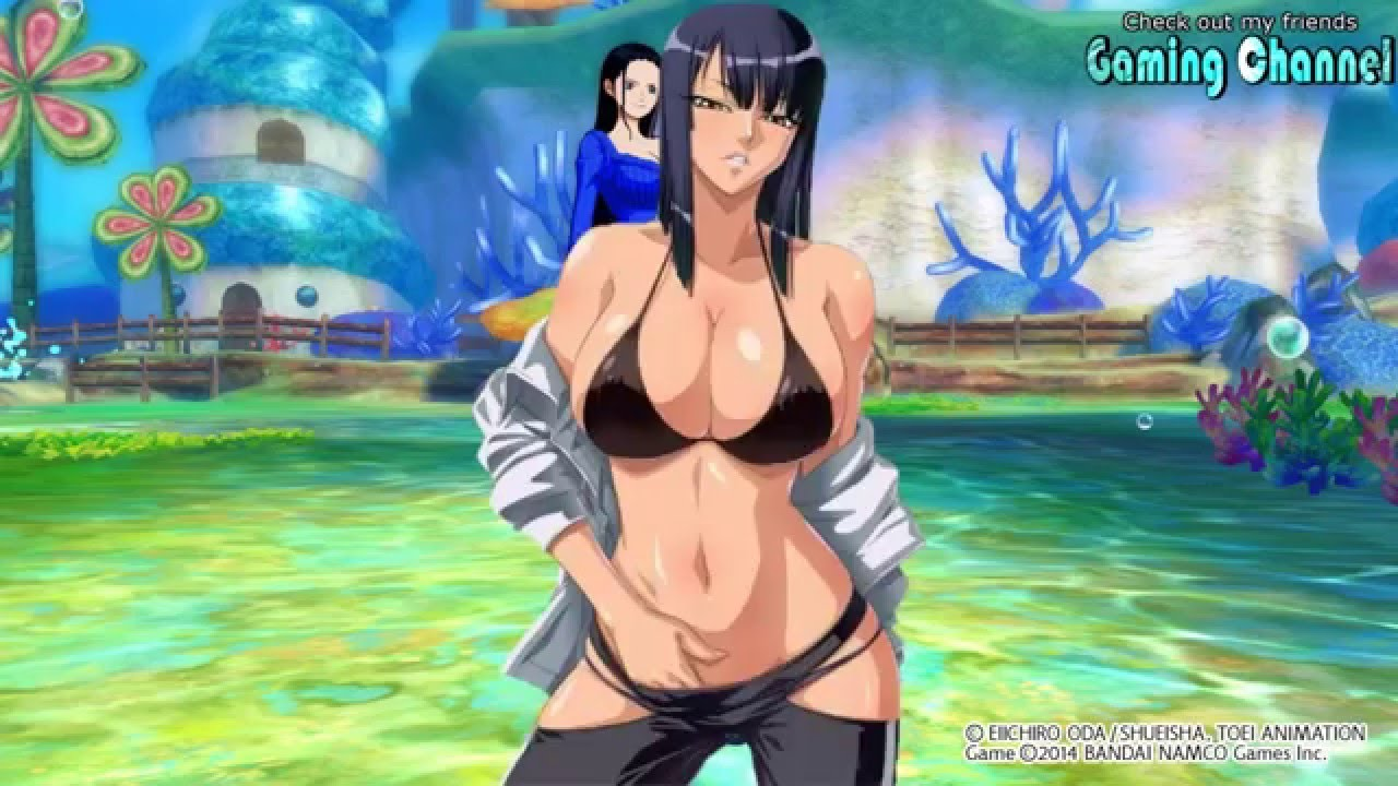 sexy nude nico robin video