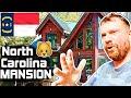 Scottish Guy Tours HUGE NORTH CAROLINA Log Cabin 🐻