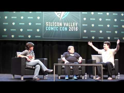 2016 Silicon Valley Comic Con: Palmer Luckey (Founder, Oculus) and Steve Wozniak