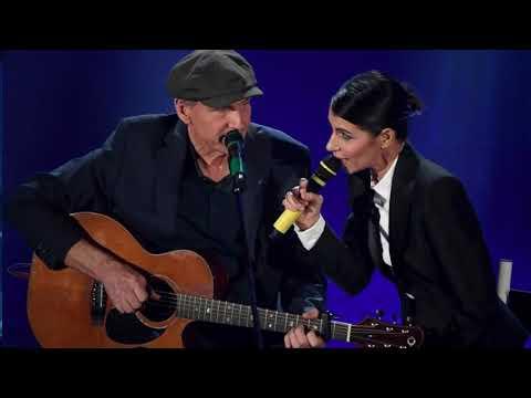 Giorgia & James Taylor   You've got a friend   Live Sanremo 2018