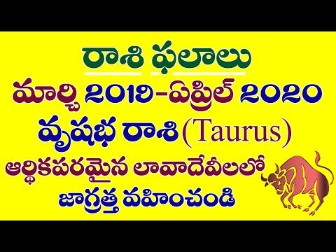 Repeat vrushabha rashi 2018-2019 remedies in telugu