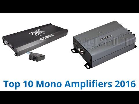10 Best Mono Amplifiers 2016