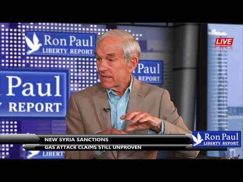 New Syria Sanctions; Gas Attack Claims Still Unproven