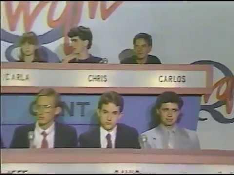 Hi-Q: Coronado HS vs Clint HS & Coronado HS vs  El Paso HS (1990)