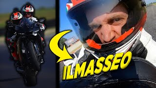 Il MASSEO reaction A 260KM/H in biposto...LEGGENDARIO!😂